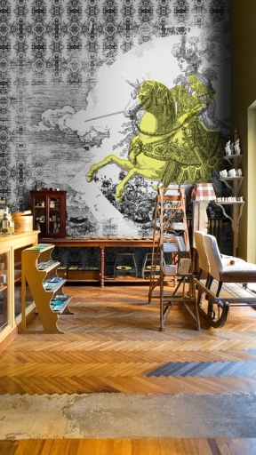 CONQUISTADORES by Wall and Deco