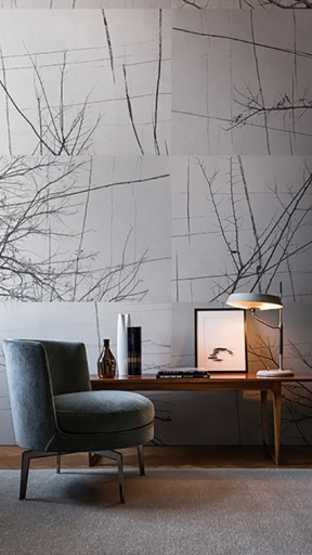 BOIS D'HIVER by Wall and Deco