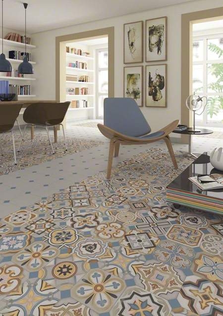 Bohemian Encaustic Tiles The Vodevil Collection