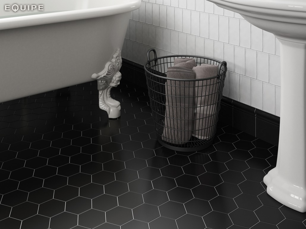 Fantastic tiles and where to find them italian tile stone for Carrelage hexagonal noir