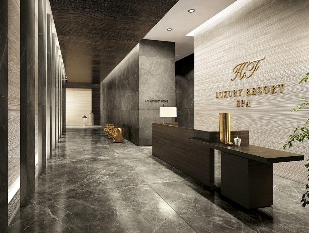 The latest tile fashions - Carrelage sol brillant ...