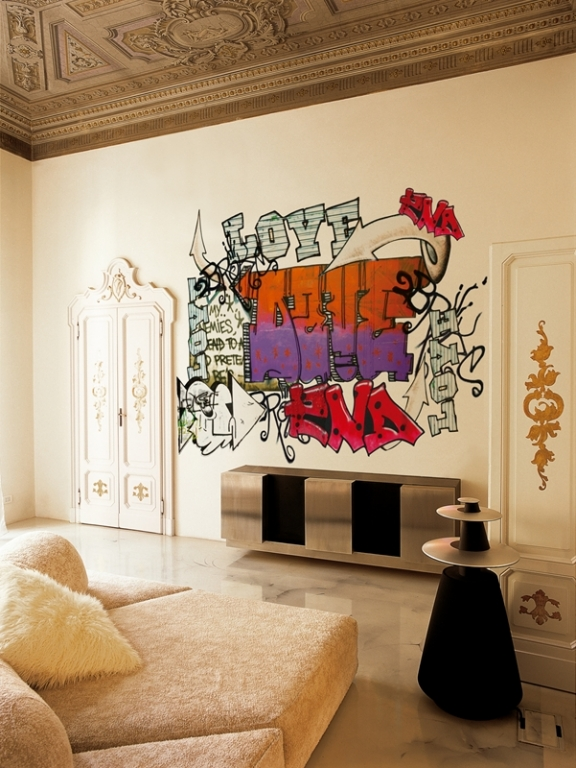 OLD SCHOOL by Wall and Deco