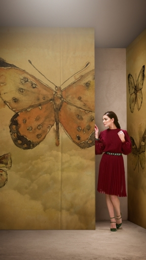 BUTTERFLIES by Wall and Deco