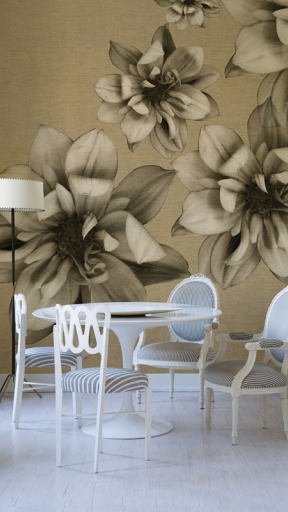 FLOWERS POETRY by Wall and Deco