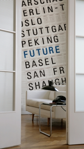 FLY TO THE FUTURE by Wall and Deco