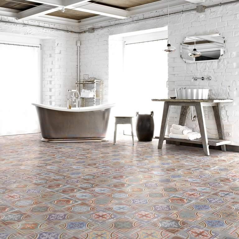 Using Encaustic Tiles In Wet Room