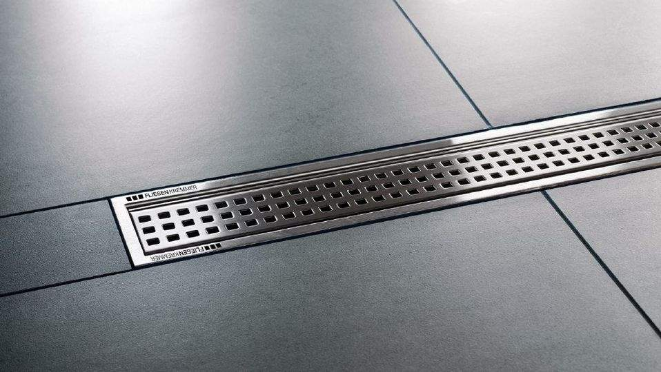schluter kerdi line linear shower drains. Black Bedroom Furniture Sets. Home Design Ideas