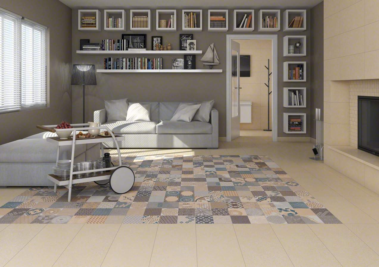 Great value porcelain tiles the alpha collection for Melange carrelage parquet
