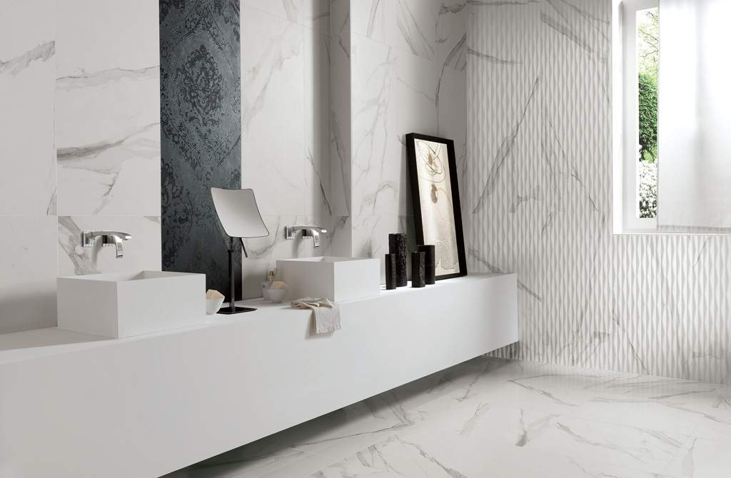 Matt Marble Wall And Floor Tiles The Roma Collection