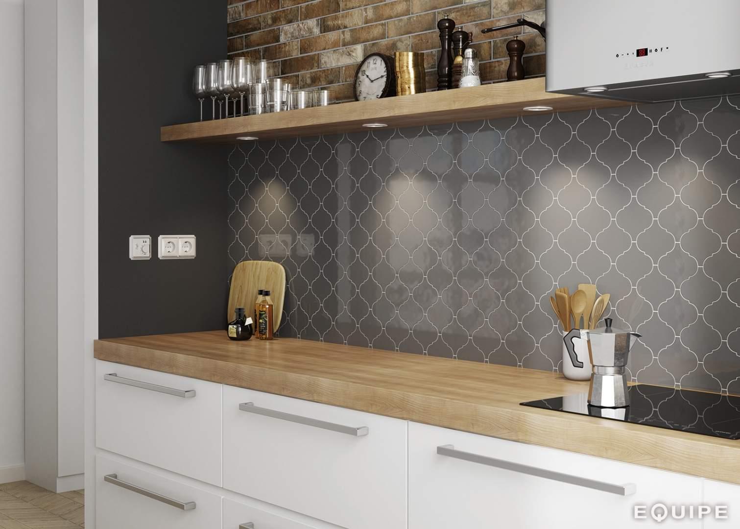 Kitchen Tiles Ireland lantern shaped tiles
