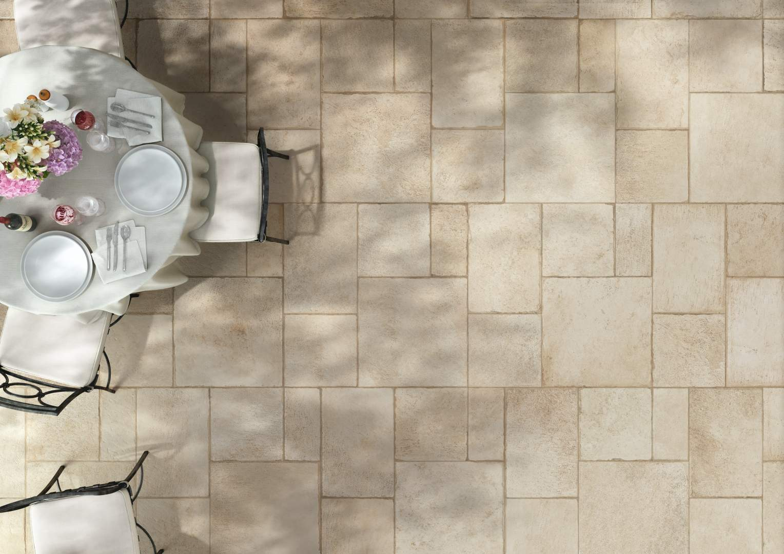 French Style Flagstone Tiles - The Chateau Royal...