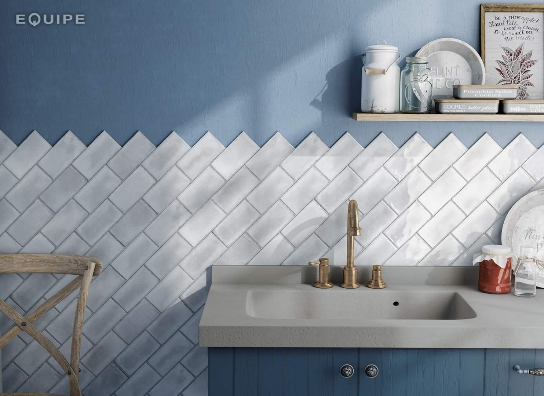 Vintage Style Square Wall Tiles - Italian Tile & Stone