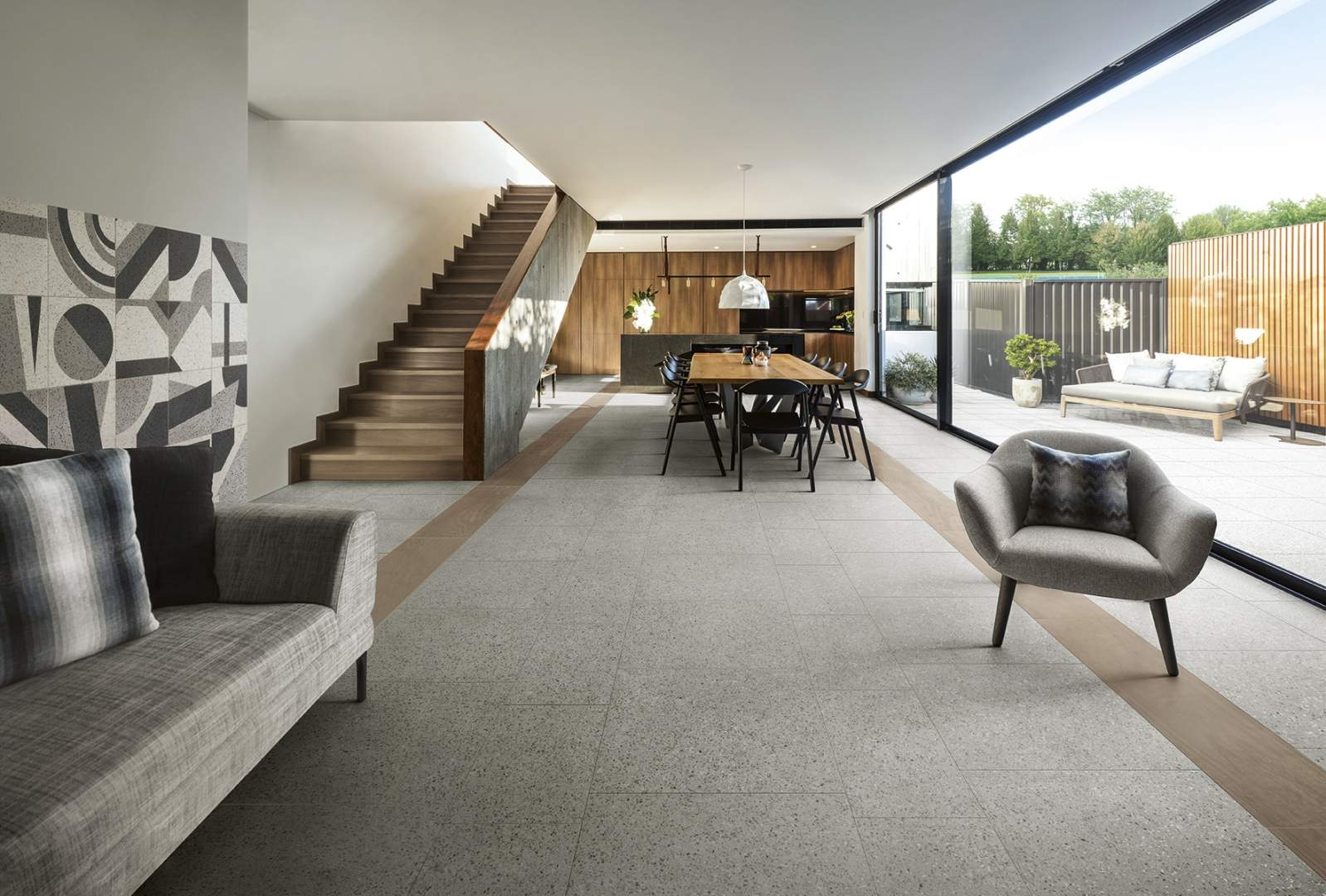 Terrazzo Floor Tiles At Italian Tile Stone Dublin - How to maintain terrazzo floors