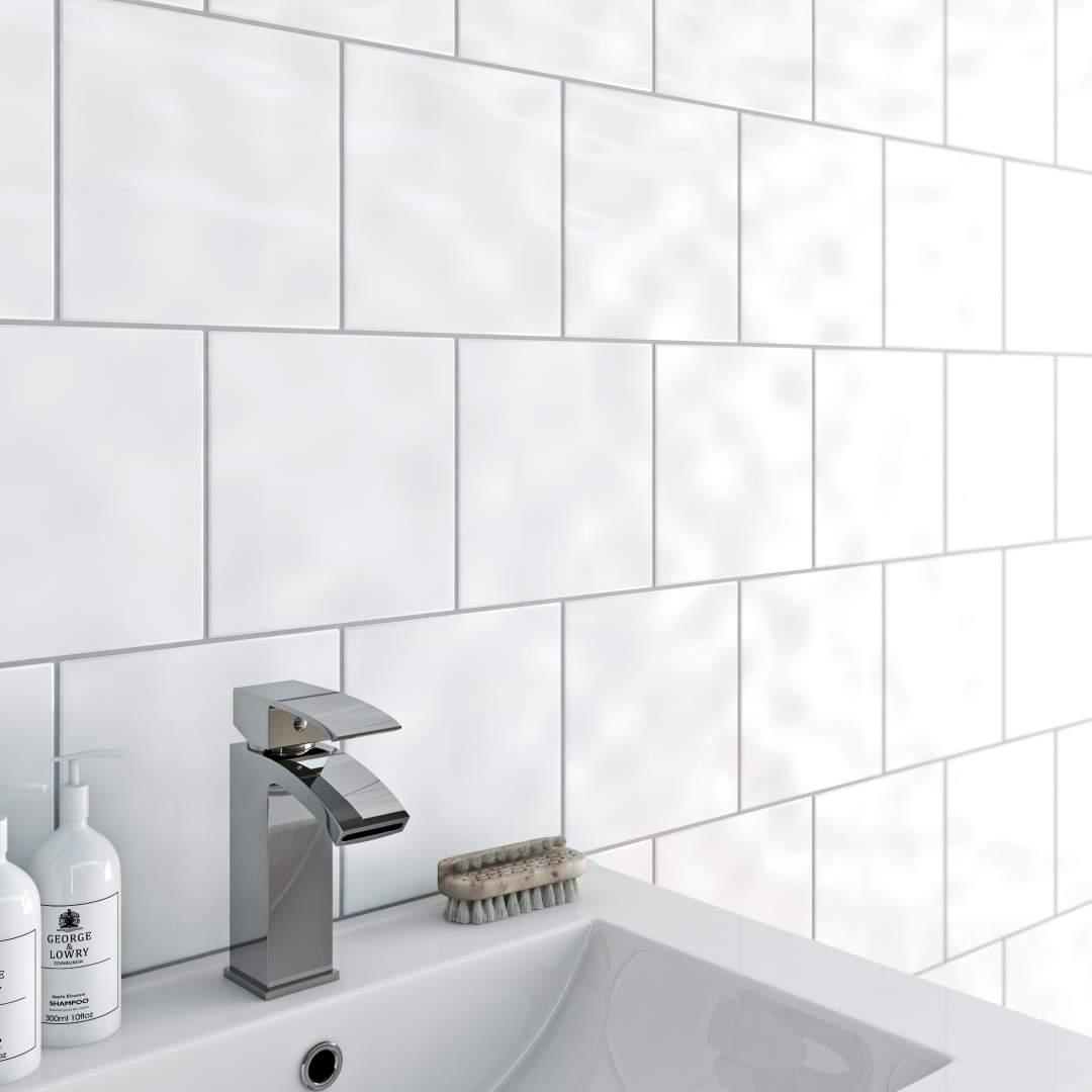 Best Value Bumpy White Tiles 20x20 in Ireland at...