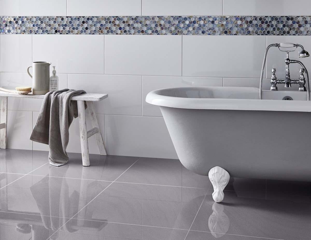 60x30 White Wall Tiles Matt And Polished