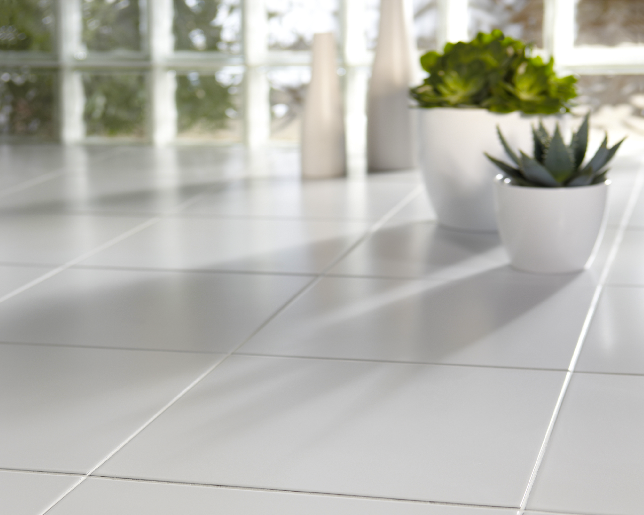 Matt white 20x20 wall and floor tile dailygadgetfo Choice Image