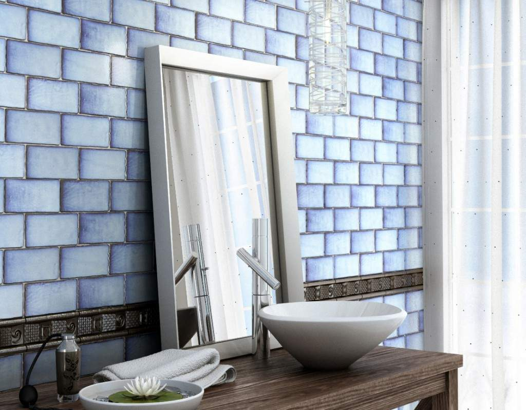 Buy Antique Blue Metro Tiles in Ireland at Tiles.ie...