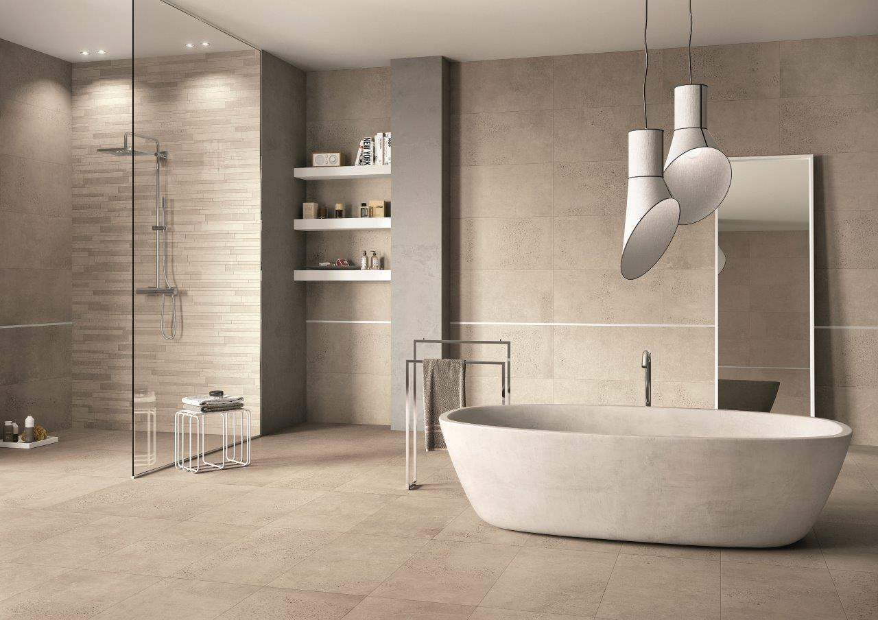 Raw Concrete Effect Tiles Ireland at Italian Tile&...