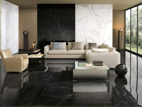 Polished Marble Tiles   The Roma Diamond Collection