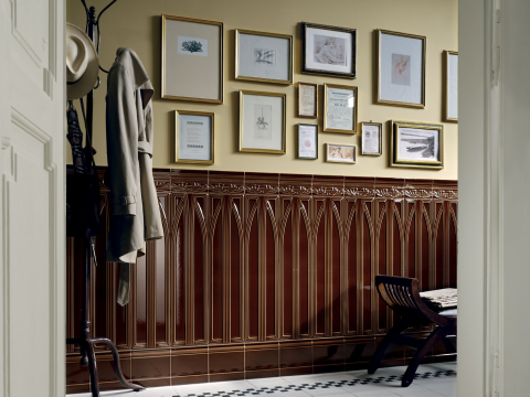 Victorian Tile Wall Panelling - The Epoque Collection & Victorian Tiles | Patterned Tiles | Italian Tile and...