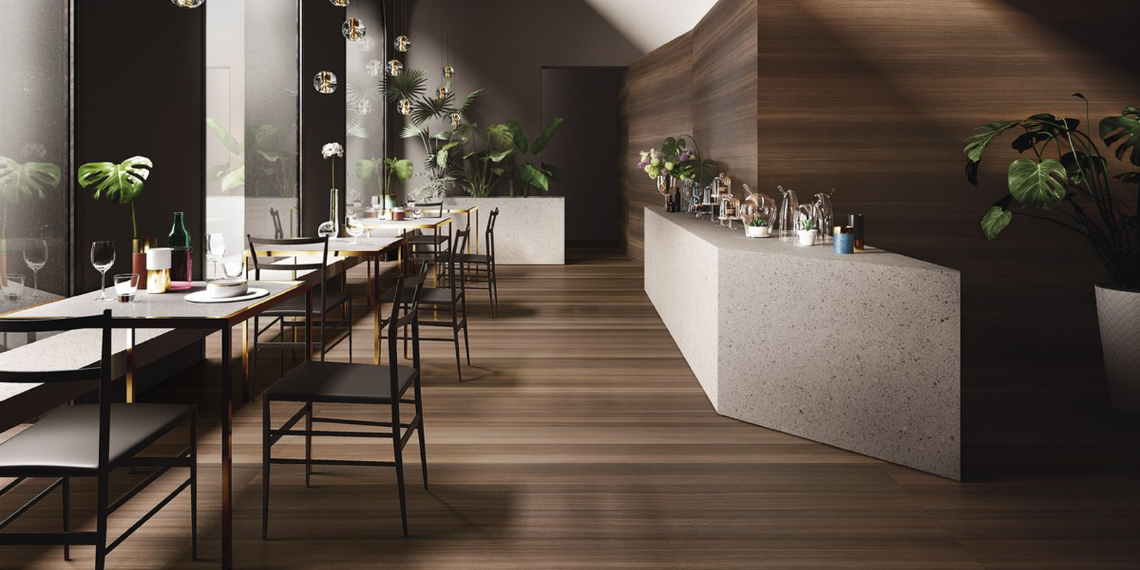 Large Format Wood Effect Tiles