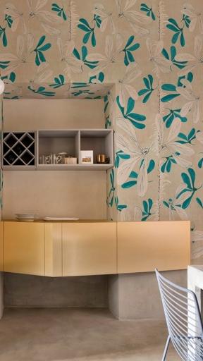 Fleur Des Ameriques by Wall and Deco