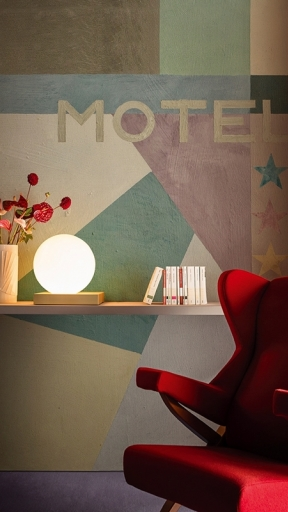 Motel Futurisque by Wall and Deco