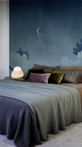 Notturno Blu by Wall and Deco