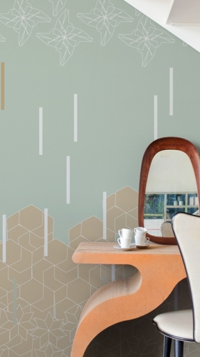 LINE'N MOTION by Wall and Deco