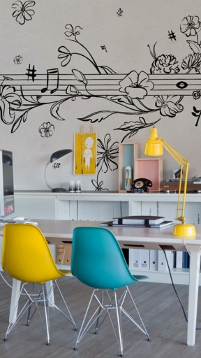 MUSIK METRIK by Wall and Deco