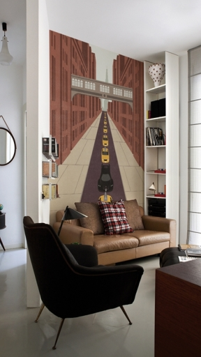 SUPER HEROES by Wall and Deco