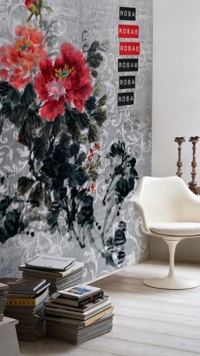 ROSA ROSAE by Wall and Deco