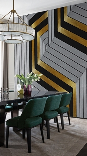 GOLDEN HOOK by Wall and Deco