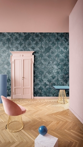 PALE BLUE EYES by Wall and Deco