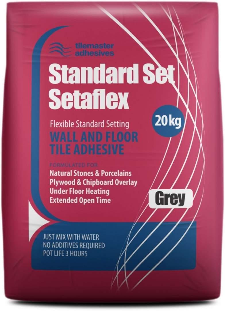 Setaflex Standard Set White Flexible Tile Adhesive