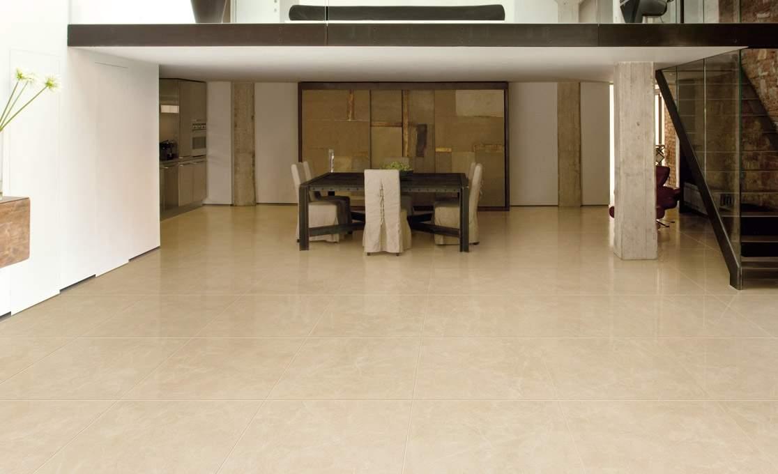 Polished Crema Marfil Tiles