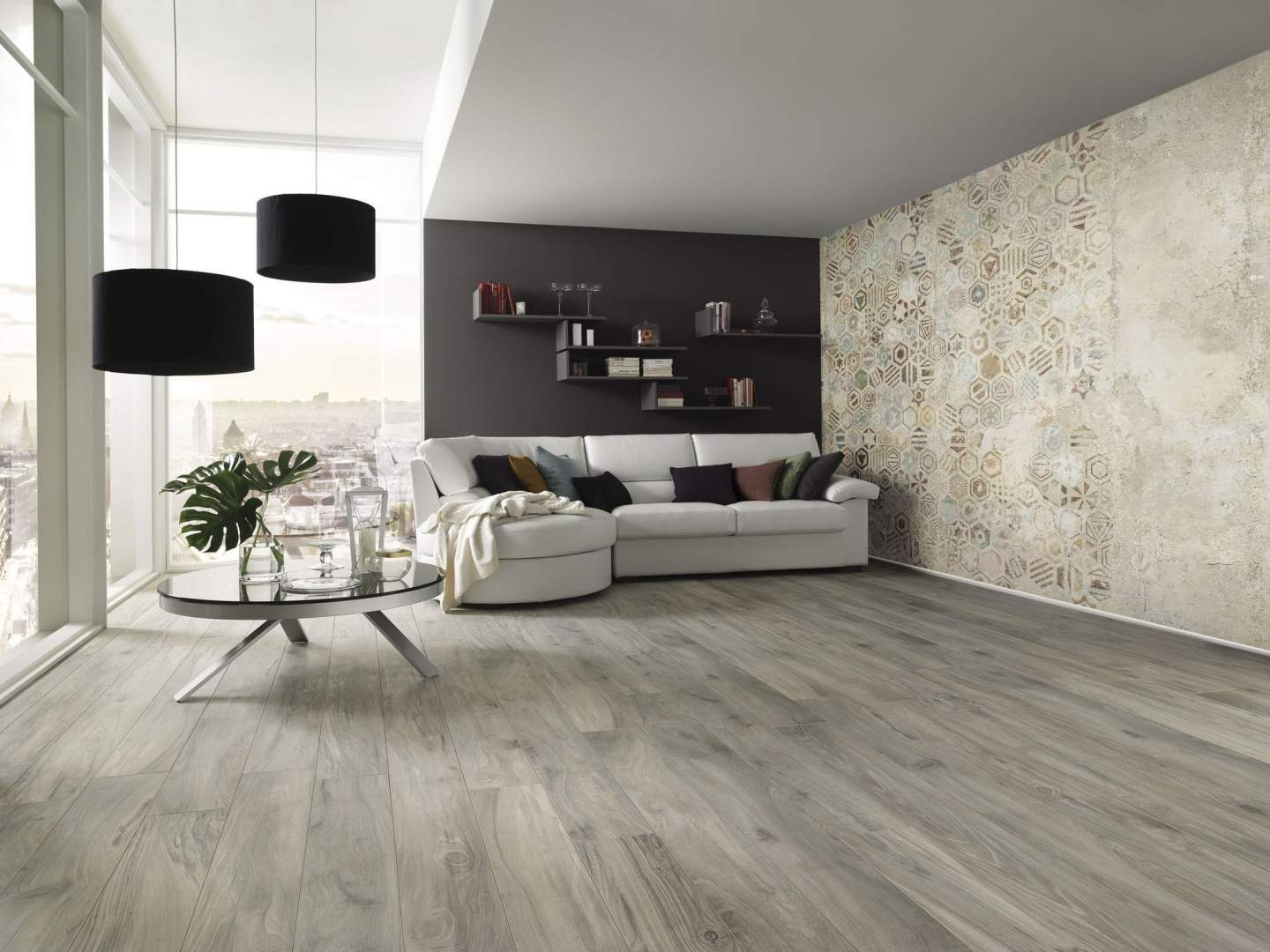 Luxurious Large Plank Wood effect Tiles