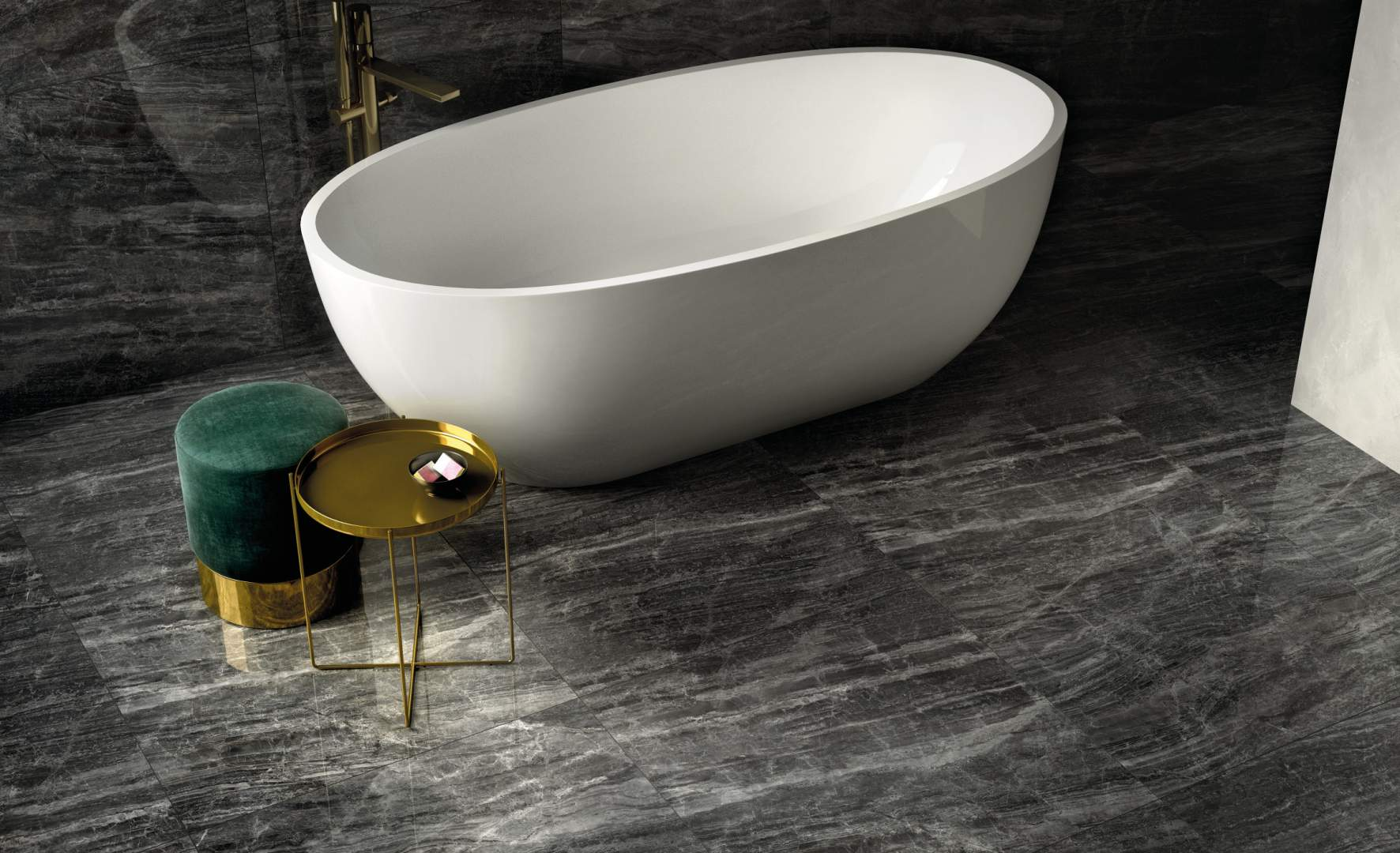 Cosmic Marble porcelain Tiles - Italian Tile and Stone Dublin Dark