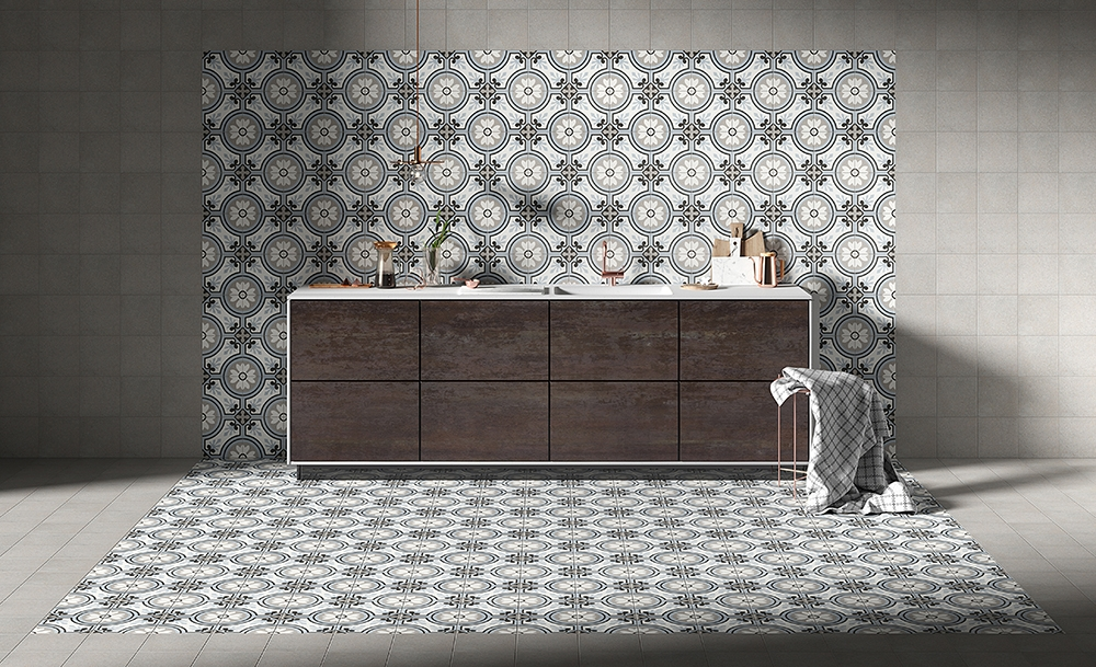 French Style Patterned Tiles - The Paris Collection