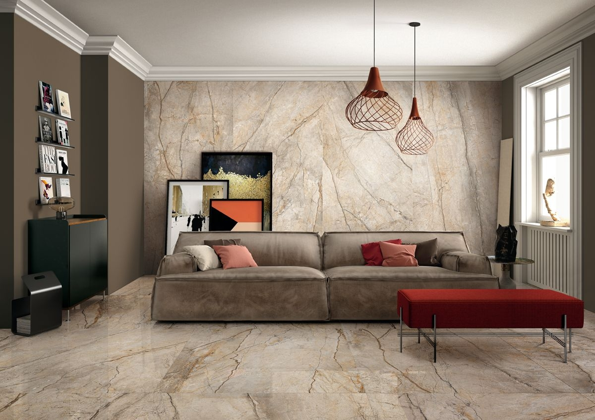 Beautiful Porcelain Marble Tiles - The Room Collection Dublin Ireland