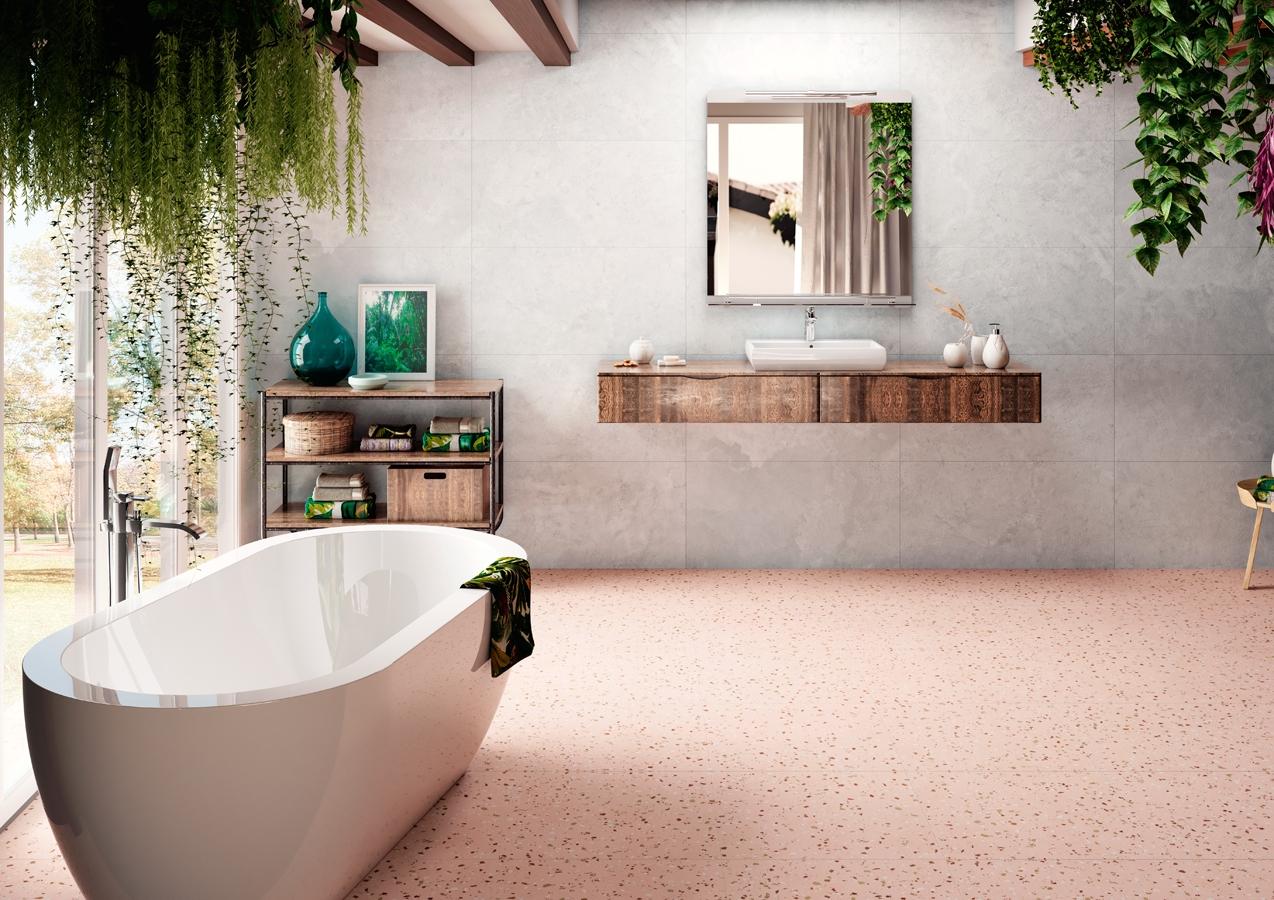 Pink Terrazzo Tiles