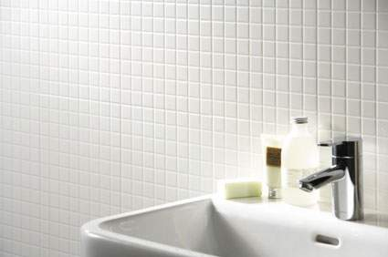White Mosaic Tiles Ireland