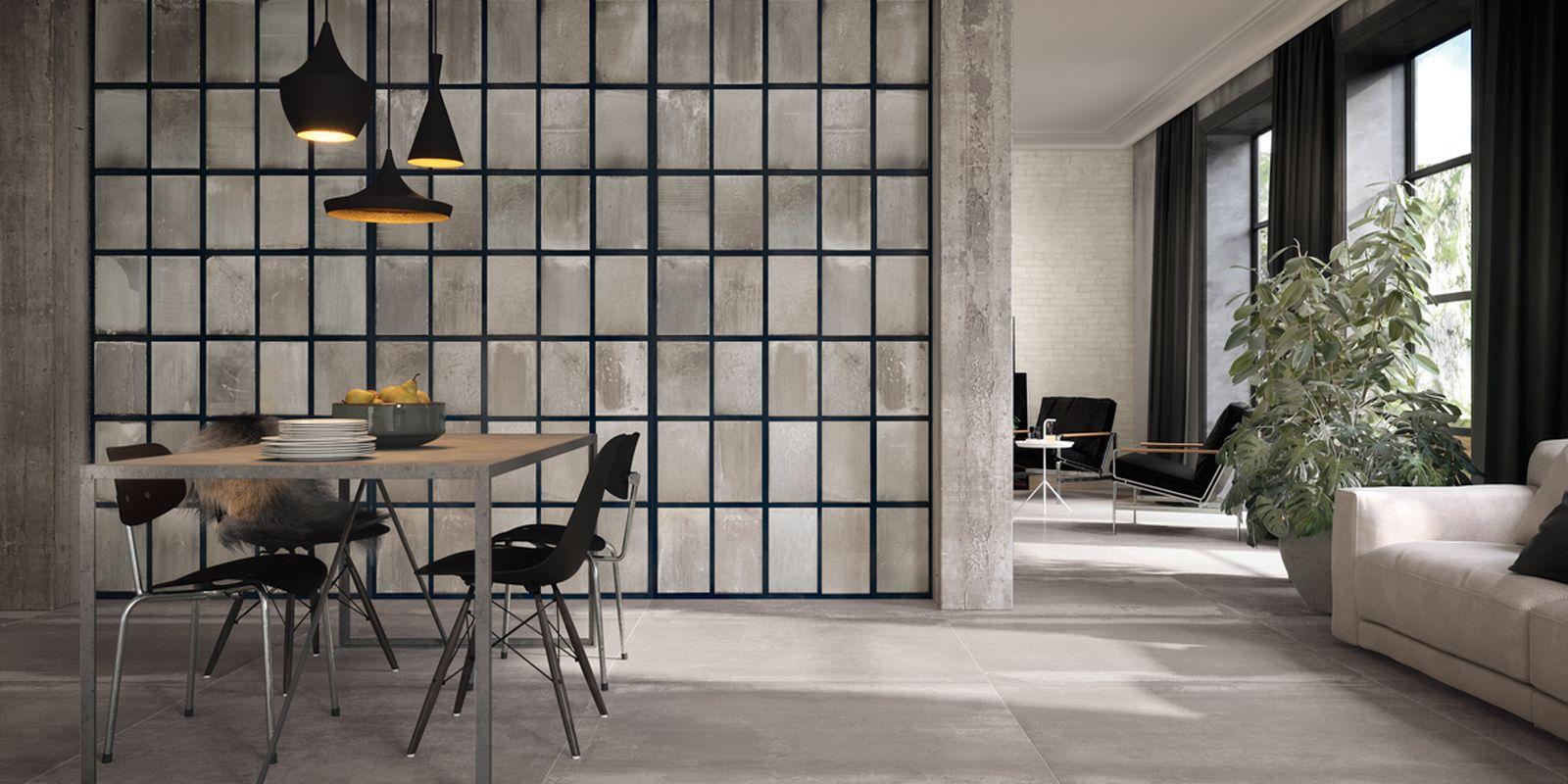 Distressed Metallic Tiles Ireland