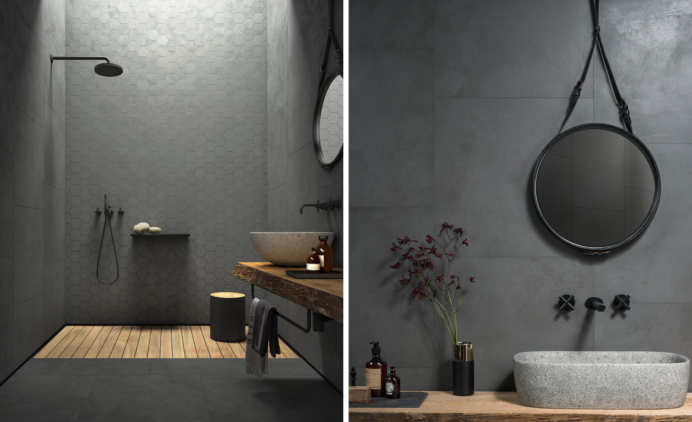 Waxed Concrete Tiles Ireland