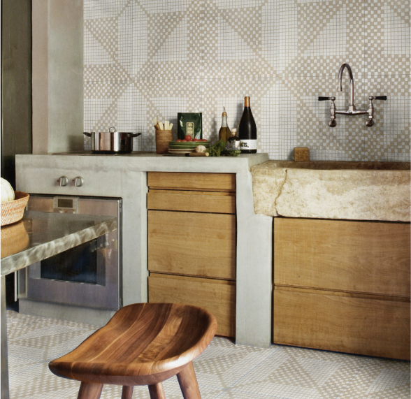 Encaustic Tiles for Walls with No maintenance