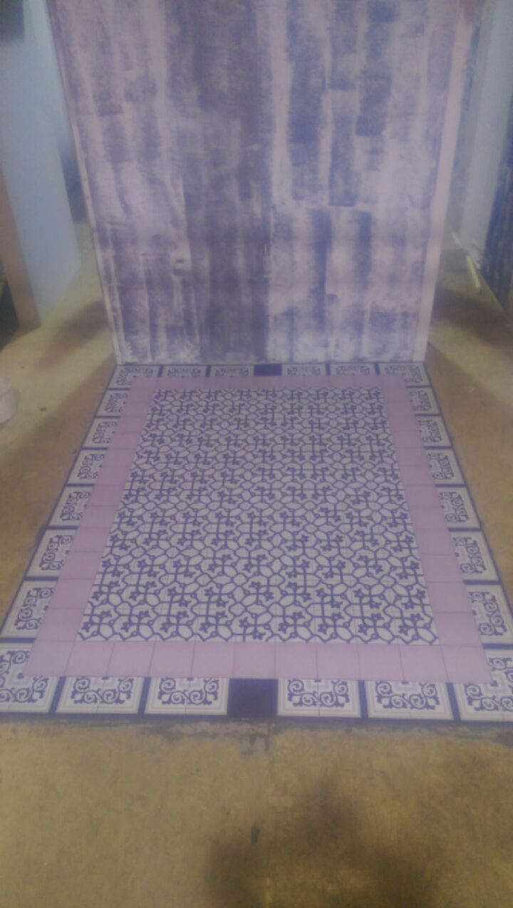 Vintage Tiles at Ideal Homes Showhouse
