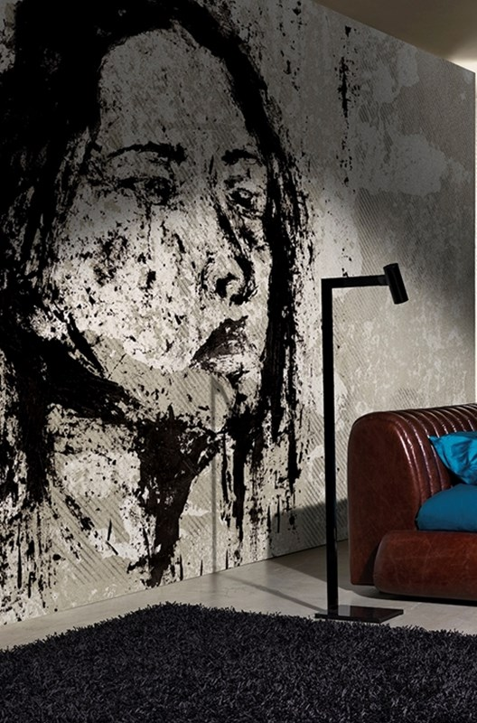 Melancholy Wall  Paper by Wall and Deco